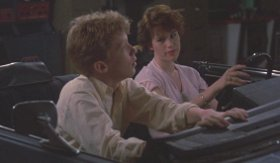 Anthony Michael Hall bonds with Molly Ringwald