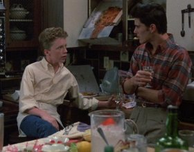 Anthony Michael Hall with Michael Schoeffling