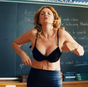 Deborah Twiss plays teacher in 'Kick-Ass'