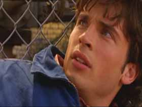 Tom Welling as Smallville's Superboy beaten again