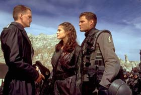 Neil Patrick Harris, Denise Richards, and Casper Van Dien